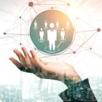 Human Resources and People Networking Concept